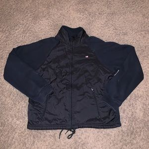 Polo Jeans Co Ralph Lauren black fleece jacket